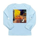 Cafe / Rat Terrier Long Sleeve Infant T-Shirt