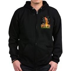 Mideve / Rho Ridgeback Zip Hoodie (dark)