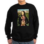 Mona / Rhodesian Ridgeback Sweatshirt (dark)