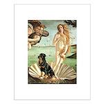 Venus & Rottweiler Small Poster