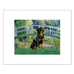 Bridge / Rottie Small Poster