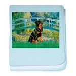 Bridge / Rottie baby blanket