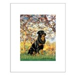 Spring / Rottweiler Small Poster