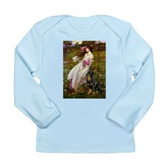 Windflowers / Rottweiler Long Sleeve Infant T-Shir