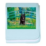 Bridge / Schipperke #4 baby blanket