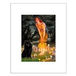 Fairies & Schipperke Small Poster