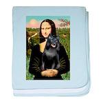 Mona's Schipperke (#5) baby blanket