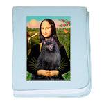 Mona / Schipperke baby blanket