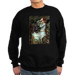 Ophelia / Schipperke #4 Sweatshirt (dark)