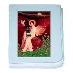 Angel (#1) & Schipperke baby blanket