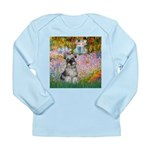 Garden / Miniature Schnauzer Long Sleeve Infant T-