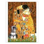 Kiss / Schnauzer (#7) Small Poster