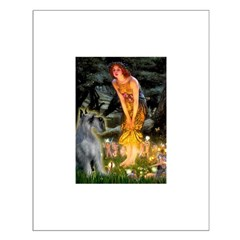 Fairies / G Schnauzer Small Poster