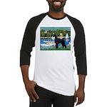 SCHNAUZER & SAILBOATS Baseball Jersey