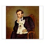 Lincoln / Scottie (w) Small Poster