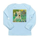 Irises / Scottie (w) Long Sleeve Infant T-Shirt