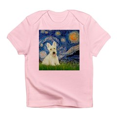 Starry Night / Scottie (w) Infant T-Shirt