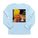 Cafe / Scottie (w) Long Sleeve Infant T-Shirt