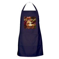 Path / Scottie (w) Apron (dark)