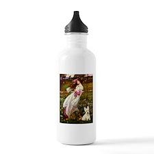 Windflowers / Scottie (w) Water Bottle