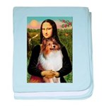 Mona's Sable Sheltie baby blanket