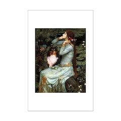 Ophelia / Shelie tri Mini Poster Print
