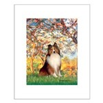 Spring / Sheltie (#1) Small Poster