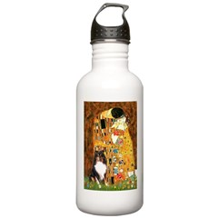 Kiss/Tri Color Sheltie Stainless Water Bottle 1.0L