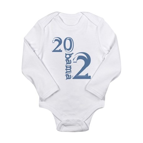 Obama 2012 Long Sleeve Infant Bodysuit