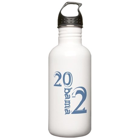 Obama 2012 Stainless Water Bottle 1.0L
