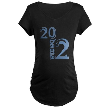 Obama 2012 Maternity Dark T-Shirt