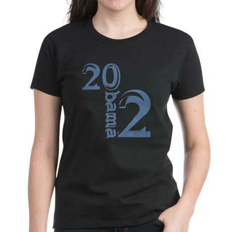 Obama 2012 Women's Dark T-Shirt