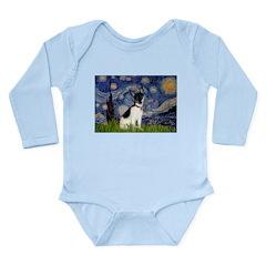 Starry / Toy Fox T Long Sleeve Infant Bodysuit