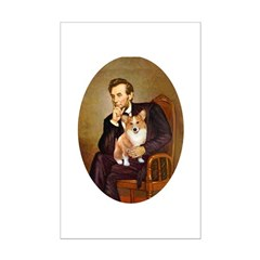 Lincoln's Corgi Mini Poster Print