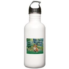 Bridge / Welsh Corgi (p) Water Bottle