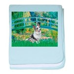 Bridge / Welsh Corgi (Bl.M) baby blanket