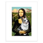 Mona's Corgi (Bl.M) Small Poster