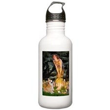Fairies & Corgi Water Bottle