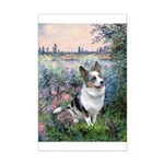 The Seine - Corgi (Bl.M) Mini Poster Print