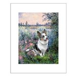 The Seine - Corgi (Bl.M) Small Poster