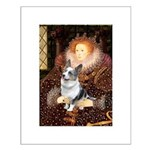 The Queen's Corgi (Bl.M) Small Poster
