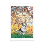Spring - Corgi (Bl.M) Mini Poster Print