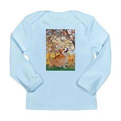 Spring / Corgi Long Sleeve Infant T-Shirt