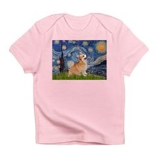 Starry Night Corgi Infant T-Shirt