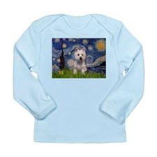 Starry / Westie Long Sleeve Infant T-Shirt