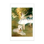 Dancer1/Wheaten T Mini Poster Print