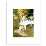 Dancer1/Wheaten T Small Poster