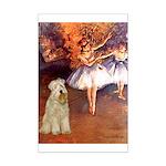 Dancer1/Wheaten T (7) Mini Poster Print