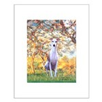 Spring / Whippet Small Poster