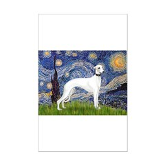 Starry Night / Whippet Posters